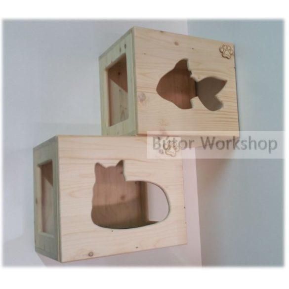 Timbo falra szerelhető macskabútor összeállítás