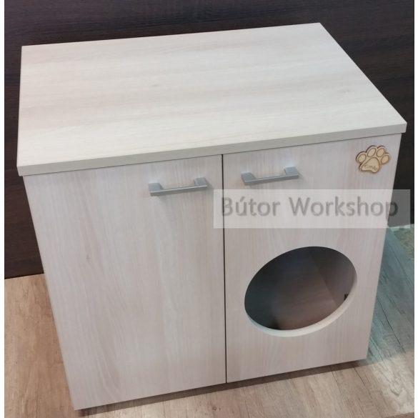 Timbo macska WC szekrény ajtón lévő bebújóval - M-es méretben
