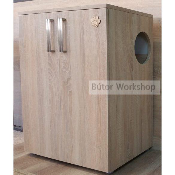 Timbo rácspályás cica wc szekrény