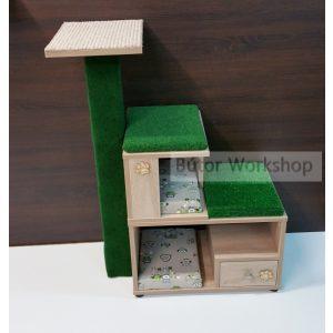 Timbo elemes macskabútor összeállítás kaprófával – L-es méret