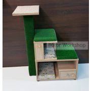 Timbo elemes macskabútor összeállítás kaprófával – S-es méret