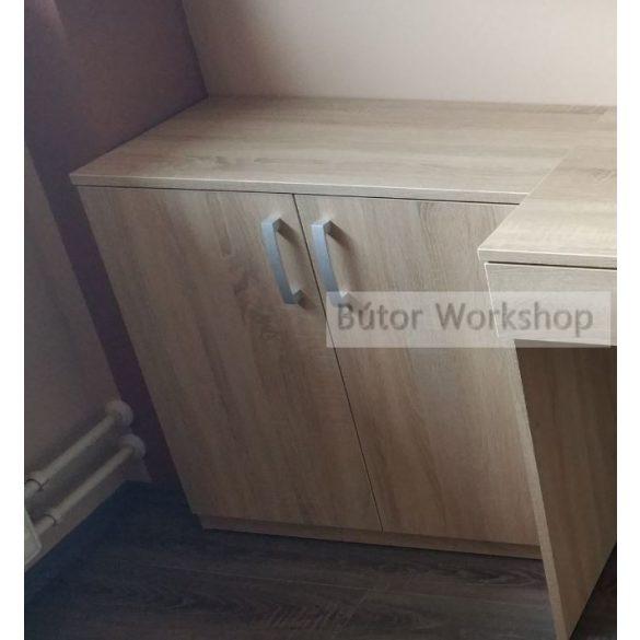 Két ajtós polcos szekrény